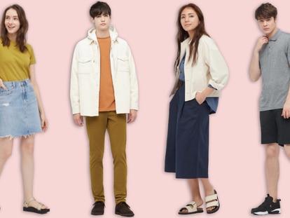 Faldas, pantalones de vestir, chaquetas de lino o polos de algodón están entre las prendas rebajadas por Uniqlo.