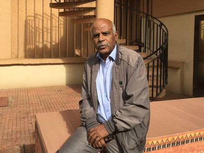 El escritor mauritano Beyrouk.