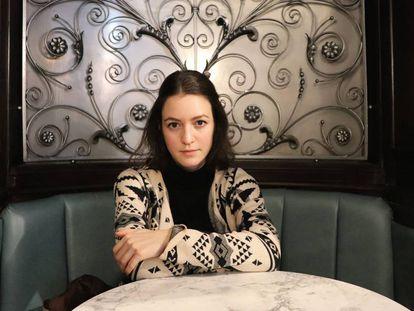 Julia Ebner, en Londres, a principios de diciembre pasado.