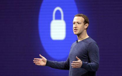 Mark Zuckerberg, fundador de Facebook, en una imagen de mayo de 2018.