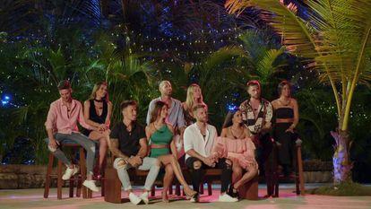 Los concursantes de la segunda edición de 'La isla de las tentaciones'.