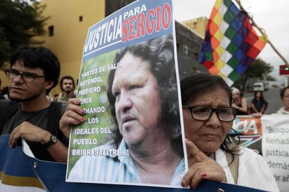 Manifestantes se reúnen este miércoles en San José tras el asesinato del líder indígena Sergio Rojas