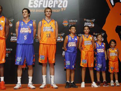 Presentación del Valencia Basket.