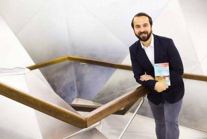 El escritor croata Boris Matijas, hoy martes, en CaixaForum Madrid.