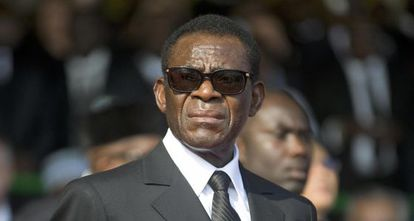 Teodoro Obiang, en Libreville en 2009.