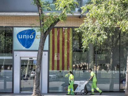 La seu d'Unió a Barcelona.