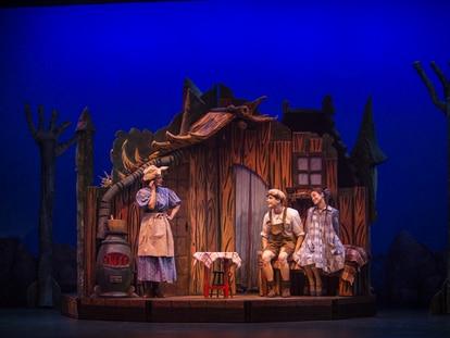 Una escena de 'Hansel y Gretel', que se podrá ver en el teatro San Pol.
