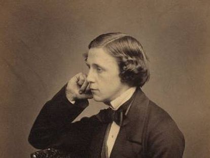 Autorretrato de Lewis Carroll.