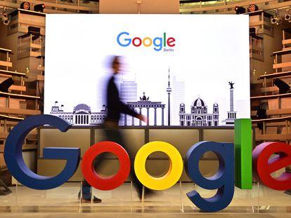 Oficina de Google en Berlín, en una imagen de archivo.