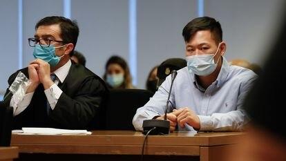 Kevin Cui, durante la sesión del juicio del pasado 20 de septiembre.