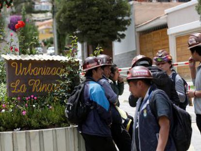 El Gobierno de Bolivia pedirá el cambio de los dos diplomáticos españoles que protagonizaron accidentalmente un incidente en su visita a la embajada de México