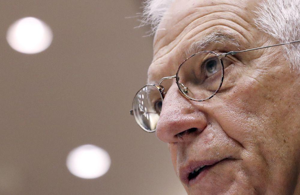 """Josep Borrell: """"La UE durmió durante mucho tiempo bajo el paraguas protector de Estados Unidos"""""""