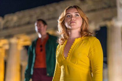 Florence Pugh como Charlie en 'La chica del tambor'.