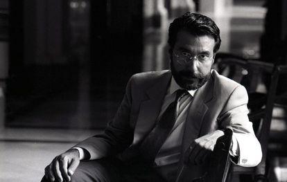 El exministro del Interior socialista Antoni Asunción en una imagen de 1991.