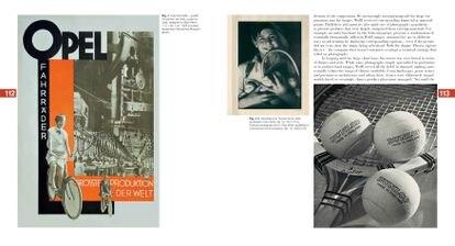 Doble página extraída del libro 'Dr. Paul Wolff  & Alfred Tritschler: The Printed Images, 1906-2019', publicado por Steidl