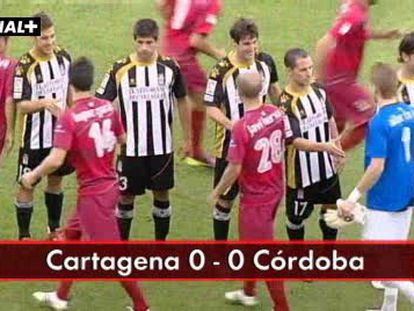 Cartagena, 0-Córdoba, 0