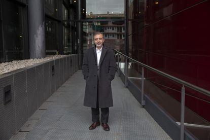 El director del Reina Sofía, Manuel Borja-Villel, posa la semana pasada en Madrid.