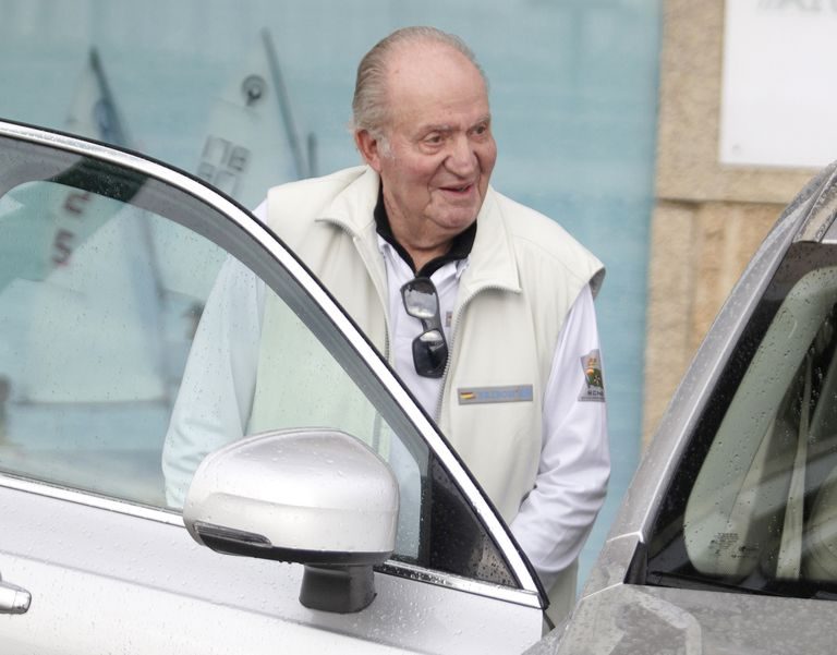 Juan Carlos I, en Sanxenxo en julio de 2019. / IAGO LÓPEZ (IGTRES)