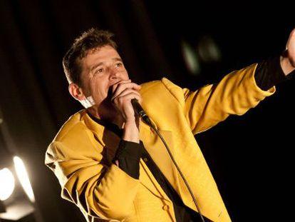 Imagen de Javier Ojeda en un concierto.