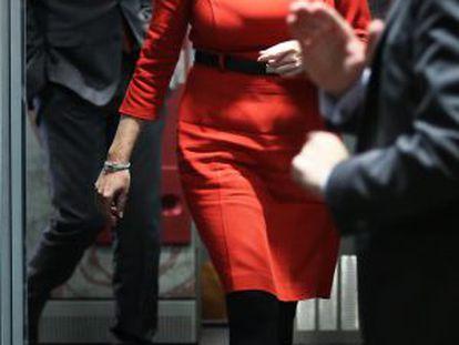 Díaz visita a Rajoy en Madrid en diciembre de 2014.