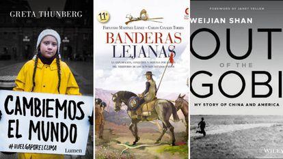 Libros recomendados por Gonzalo Gortázar, Ignacio S. Galán y Antonio Brufau.