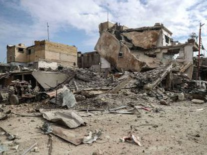 Al menos 310 personas han muerto desde el domingo por la ofensiva del régimen sirio sobre Guta