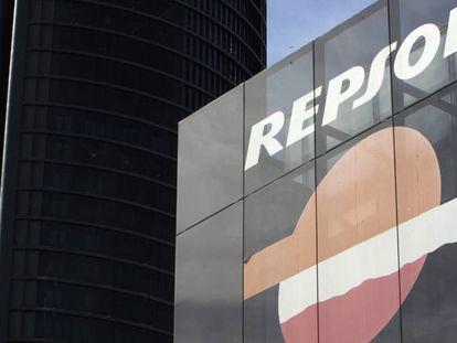 Sede de la compañia petrolera Repsol.