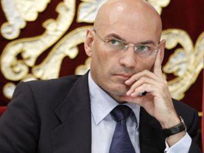 El juez Javier Gómez Bermúdez.