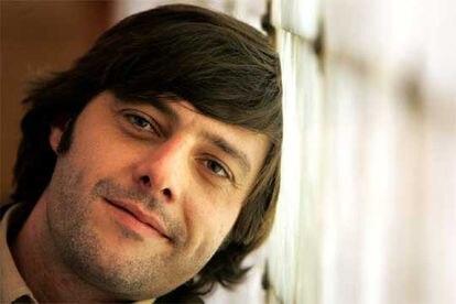 El escritor Andrés Barba, el día de la presentación de su libro 'Versiones de Teresa'.
