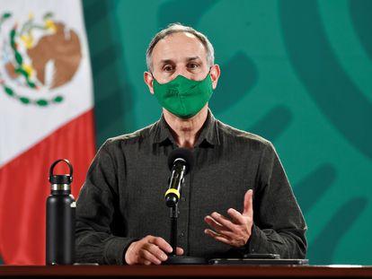 López Gatell durante una conferencia el 19 de febrero. En video, las declaraciones del subsecretario.