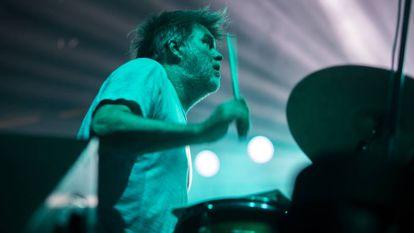 LCD Soundsystem durante su actuación en el Sónar.