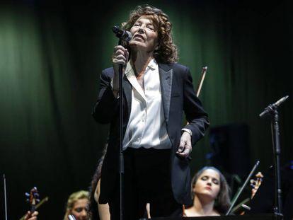 Concierto de Jane Birkin en el festival musical Noches del Botánico.