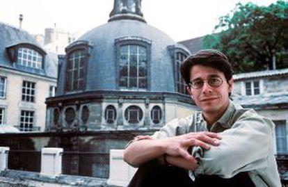 Una imagen de Carrère de 1993.