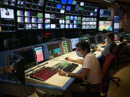 Instalaciones de  RTVE en Sant Cugat del Vallès.