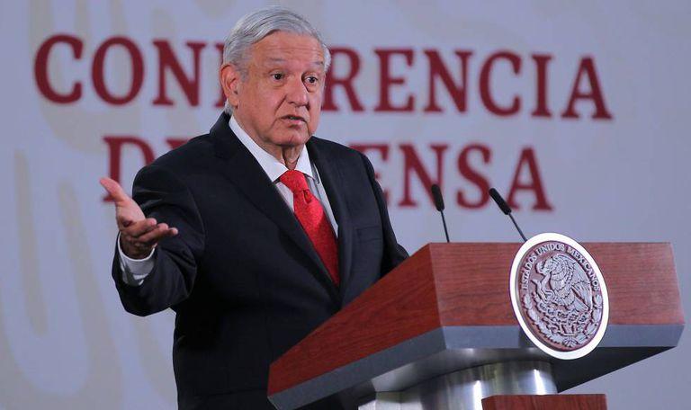 López Obrador, en una reciente conferencia de prensa.