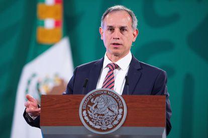 El subsecretario de prevención y promoción de la Salud, Hugo López-Gatell, el pasado 23 de marzo.