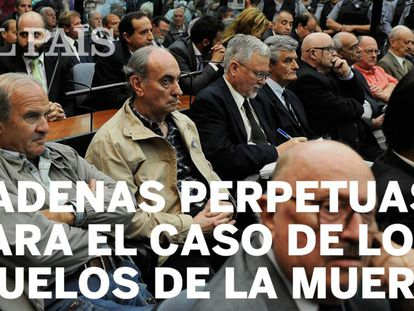 Los responsables, sentenciados a perpetua en el marco de la megacausa de la ESMA, el mayor juicio de la historia del país