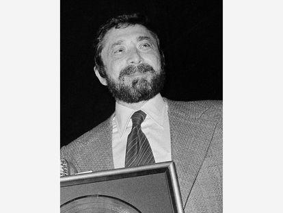 Walter Yetnikoff, en su etapa como presidente de CBS Records, en Nueva York, 1978.