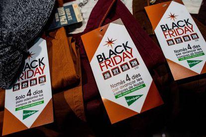 Rebajas por el Black Friday.