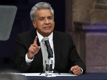 Lenín Moreno, en una imagen de archivo.