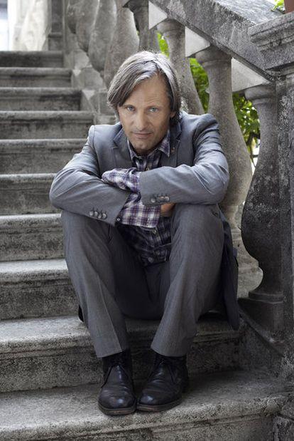 Viggo Mortensen, fotografiado en Venecia.