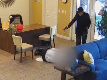 La Policía de las Vegas ha difundido un vídeo donde se puede ver la secuencia completa