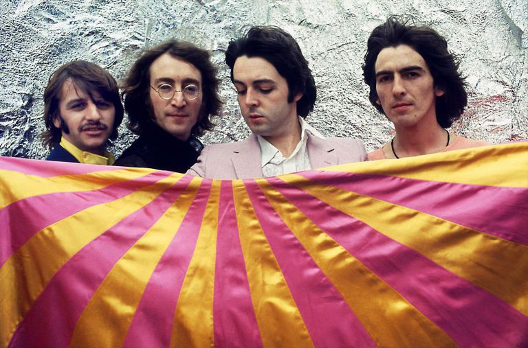 El grupo en 1968, el año del lanzamiento de 'The Beatles', más conocido como 'el álbum blanco'. Su primer disco tras la muerte de Brian Epstein.