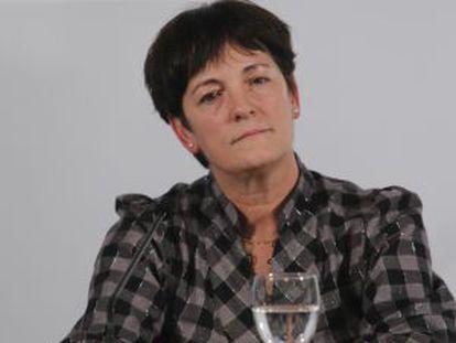 La viceconsejera Lourdes Auzmendi.