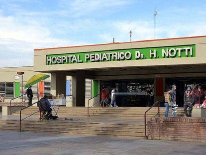 Hospital pediátrico Dr. H. Notti de Mendoza.