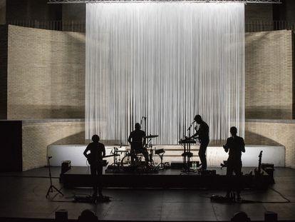 Concierto de Manel en el Teatre de Sagunt. Escena 2020