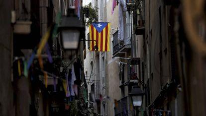 Ambiente electoral en Barcelona.