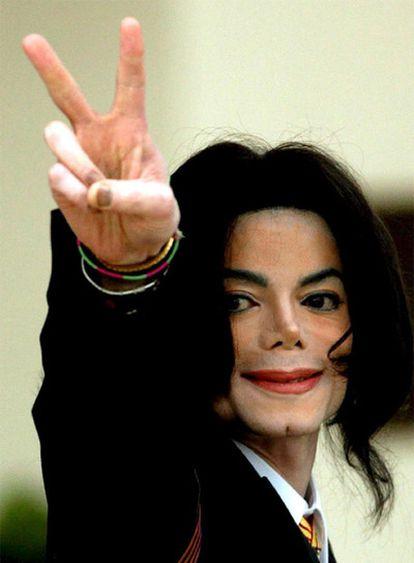 Michael Jackson, en Los Ángeles.