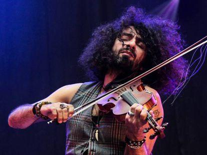 El violinista Ara Malikian durante una actuación.