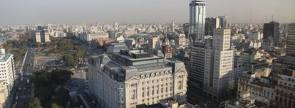 Una imagen de la ciudad de Buenos Aires.